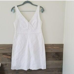 Vineyard Vines White Eyelet Dress
